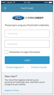 My Ford Credit >> Ford Pass Are You Connected